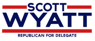 Scott Wyatt for Delegate Logo